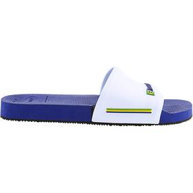 havaianas Brasil Slides marine blue/white